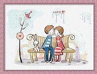 Картина по номерам Menglei Любовь это... (ME001) -