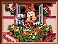 Картина по номерам Menglei Полив цветов (ME031) -