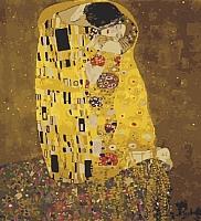 Картина по номерам Menglei Поцелуй Г.Климт (MG543) -