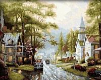 Картина по номерам Menglei Старый город (MG034) -