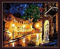 Картина по номерам Menglei Вечерний город (MG065) -