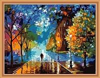 Картина по номерам Menglei Осенняя прогулка (MG158) -