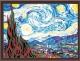 Картина по номерам Menglei Звездная ночь (Ван Гог) (MG124) -