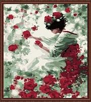 Картина по номерам Menglei Нежность роз (MG144) -