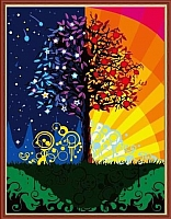 Картина по номерам Menglei Дерево счастья (MG224) -