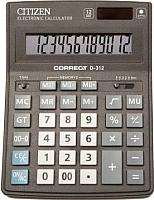 Калькулятор Citizen Correct D-312 -