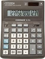 Калькулятор Citizen Correct D-314 -