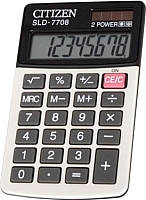 Калькулятор Citizen SLD-7708 -