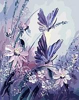 Картина по номерам Menglei Сиреневый восторг (MG556) -