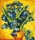 Картина по номерам Menglei Ирисы Ван Гога (MMC103) -