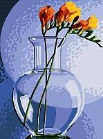 Картина по номерам Picasso Фрезия в вазе (PC3040005) -