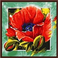 Картина по номерам Picasso Мак (PC4040003) -