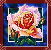 Картина по номерам Picasso Розовая роза (PC4040004) -
