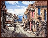 Картина по номерам Picasso Испанская улица (PC4050042) -