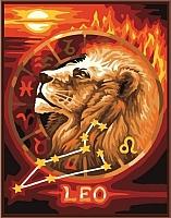 Картина по номерам Picasso Лев (PC4050057) -
