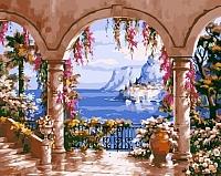 Картина по номерам Picasso Вид на бухту (PC4050071) -