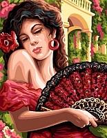 Картина по номерам Picasso Испанская красавица (PC4050072) -