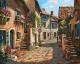 Картина по номерам Picasso Итальянские улочки (PC4050079) -