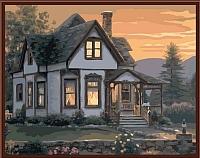 Картина по номерам Picasso Уютным вечером (PC4050086) -