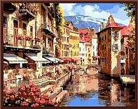 Картина по номерам Picasso По старым каналам Европы (PC4050113) -