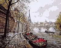 Картина по номерам Picasso Набережная Сенны (PC4050124) -
