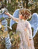 Картина по номерам Picasso Обед из руки ангела (PC4050128) -