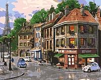 Картина по номерам Picasso На улицах Парижа (PC4050131) -