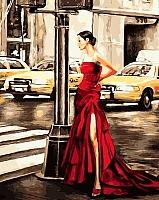 Картина по номерам Picasso Девушка в красном (PC4050134) -