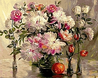 Картина по номерам Picasso Шикарные цветы (PC4050135) -