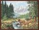 Картина по номерам Picasso Идиллия в горах (PP4050083) -