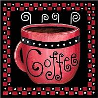 Картина по номерам Truehearted Кофе-ред (HB2020047) -