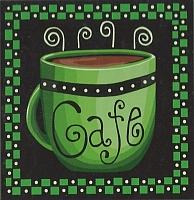 Картина по номерам Truehearted Кофе-грин (HB2020048) -