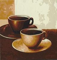 Картина по номерам Truehearted Кофейный дуэт (HB2020001) -
