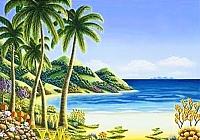 Картина по номерам Truehearted Райский уголок (HB3040159) -