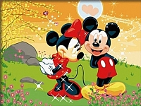 Картина по номерам Truehearted Признание в любви (HB3040073) -
