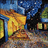 Картина по номерам Truehearted Ночная терраса кафе (HB4040027) -