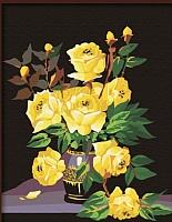 Картина по номерам Truehearted Желтые розы (HB4050066) -