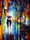 Картина по номерам Truehearted Прогулка под дождем (HB4050113) -