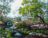 Картина по номерам Truehearted Горная река (HB4050204) -