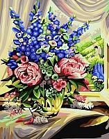 Картина по номерам Truehearted Розово-люпиновый букет (HB4050286) -