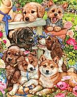 Картина по номерам Truehearted Веселые друзья (HB4050302) -