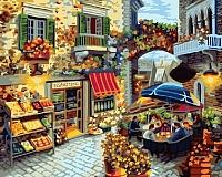 Картина по номерам Truehearted Цветочная кофейня (HB4050307) -