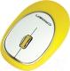 Мышь Crown Micro CMM-931W (желтый) -
