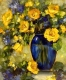 Картина по номерам Truehearted Желто-синий натюрморт (HB5060004) -
