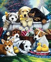 Картина по номерам Truehearted Дружные малыши (HB5060010) -