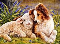 Картина по номерам Truehearted Лучшие друзья (HB5060013) -