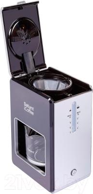 Капельная кофеварка Saturn ST-CM7080 (черный)
