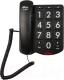 Проводной телефон Ritmix RT-520 (черный) -