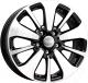 Литой диск KnK Peugeot (KC688) 16x6,5 5x114,3мм DIA 67,1мм ET 38мм (черный с полировкой) -