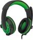 Наушники-гарнитура Defender Warhead G-300 / 64128 (зеленый) -